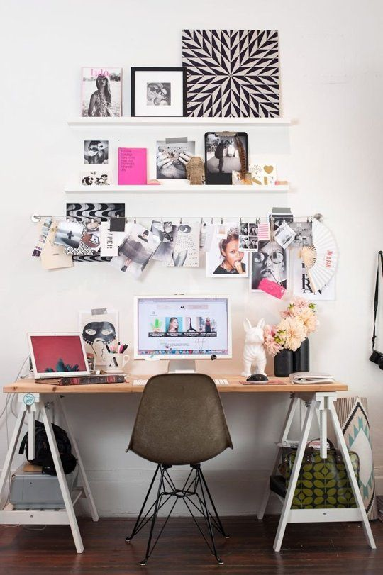 Bureau chipé sur apartmenttherapy.com via Pinterest