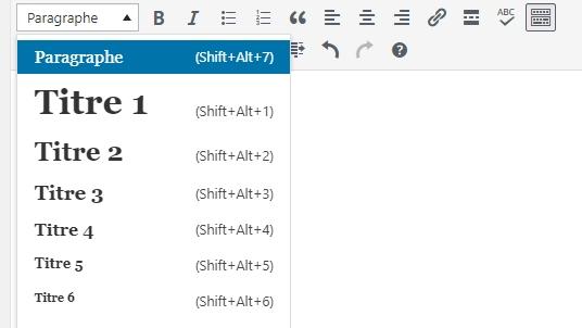 Wordpress : une gestion intuitive des balises titre